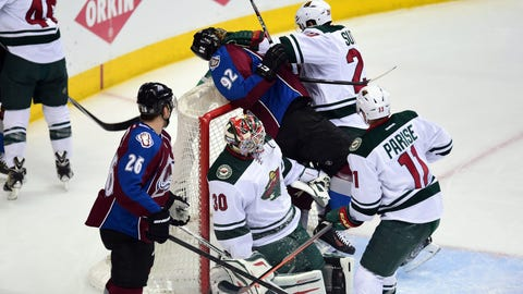 Wild at Avalanche, Game 2: 4/19/14