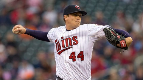 5. Kyle Gibson is setting the tone for the starting rotation.