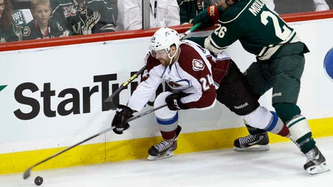 Avalanche at Wild, Game 3: 4/21/14