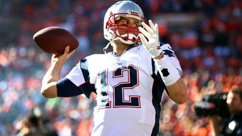 Patriots QB Tom Brady, $14.12 million