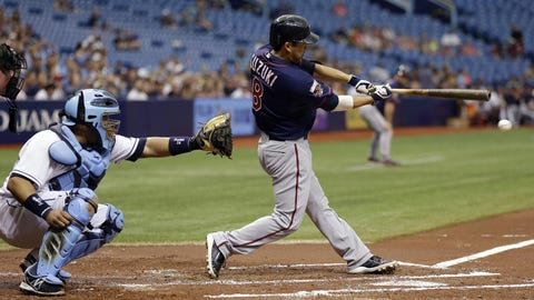 Twins at Rays: 4/22/14-4/24/14