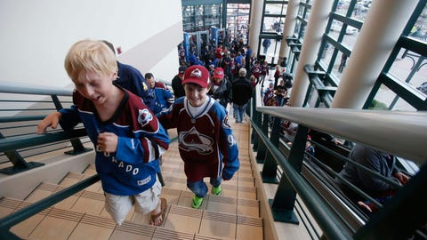 Wild at Avalanche, Game 5: 4/26/14