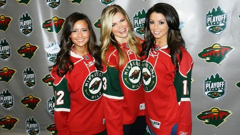 Excited for Game 6 of the Wild/Avalanche series at the X!