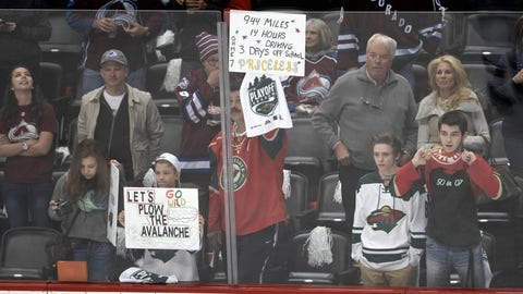 Wild at Avalanche, Game 7: 4/30/14