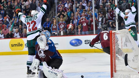 Wild win epic seven-game series against the Colorado Avalanche