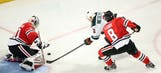 Wild continue to struggle against Blackhawks' Crawford
