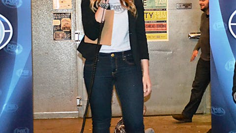 Kendall emcees the event, which started at Fulton Brewery conveniently located next to Target Field.