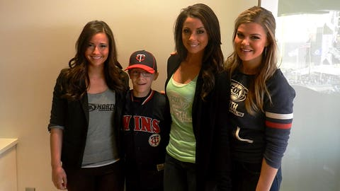 The FOX Sports North Girls hosted a suite night for Minnesota Twins fans.