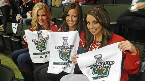 Wave your towels, Wild fans! #ItsPlayoffSeason