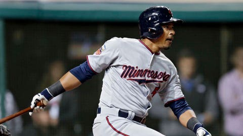 4. It's hard not to like Eduardo Escobar's versatility -- and the way he's swinging the bat.