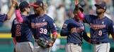 Nunez plays hero in fourth game for Twins