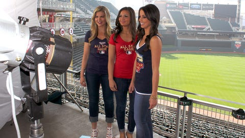 The FOX Sports North Girls are so excited for the All Star Game at Target Field this summer. Don't forget to pick up your exclusive All Star Game items from Target Field and Twins Proshops.