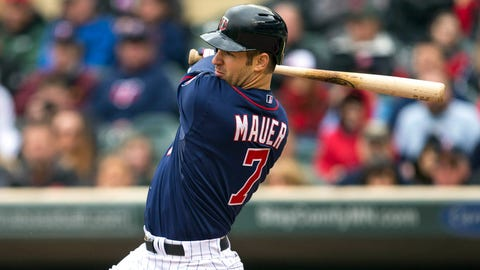 Mauer carries Twins