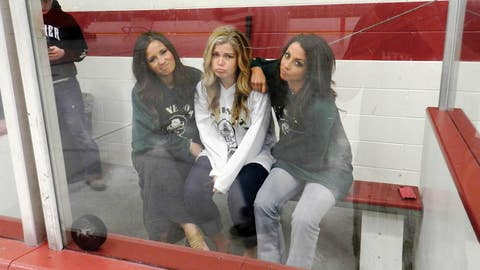Spending a little time in the penalty box.