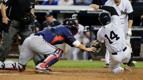 Twins at Yankees: 5/30/14-6/1/14