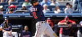 Twins' Dozier leaves game with lower back soreness