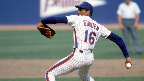 Doc Gooden, Charlie Hough balk (1986)
