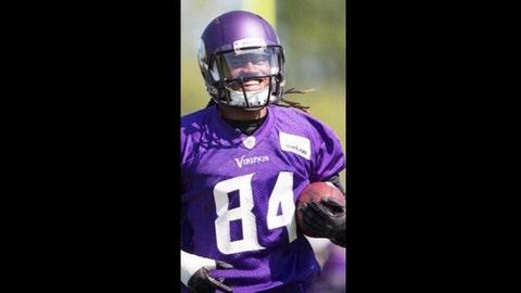 Cordarrelle Patterson, Vikings receiver