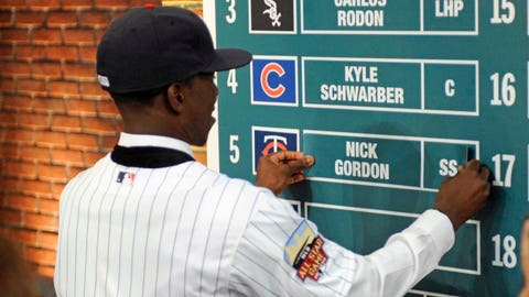 The baseball draft has changed a lot since I was drafted.