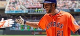 Two grand slams highlight Astros' 14-5 drubbing of Twins