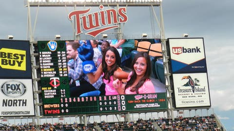We made the Jumbotron!