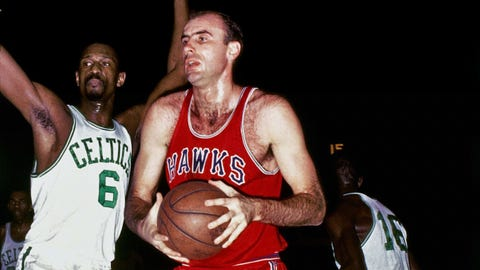 St. Louis Hawks (4-2) vs. Boston Celtics, 1958