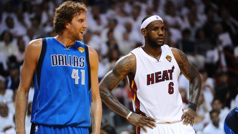 Dallas Mavericks (4-2) vs. Miami Heat, 2011