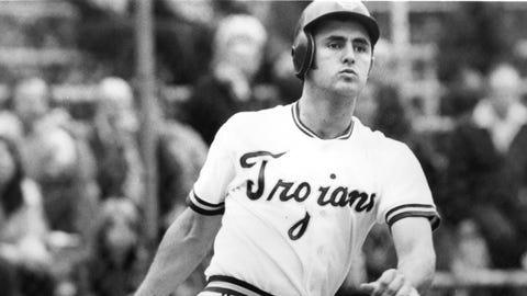 Center field: Fred Lynn (Southern California, 1971-73)