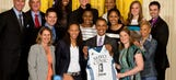 Obama honors champion Lynx at White House, jokes of Maya Moore wing