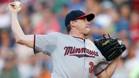 Twins at Red Sox: 6/16/14-6/18/14
