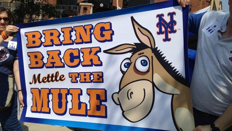 Mettle the Mule, New York Mets, 1979