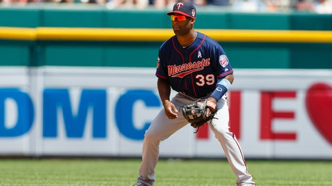 Now that he's back at his natural position, shortstop Danny Santana looks impressive.