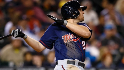 Chris Parmelee continues to be the Twins' hottest hitter.