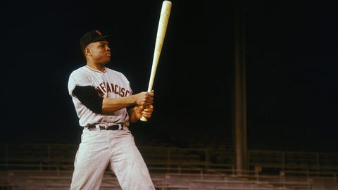 Willie Mays, 3,283 hits