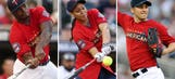 Local athletes Peterson, Moore and Parise represent at Celebrity Softball Game