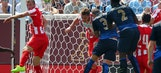 Olympiacos beats Manchester City as Minnesota hopes for global soccer relevance