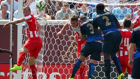 International soccer at TCF Bank Stadium: 8/2/14
