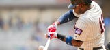 Rookie Vargas showing patience, intelligence at plate