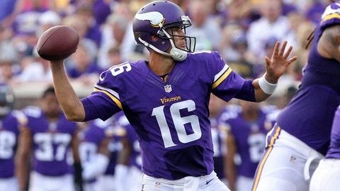 Raiders at Vikings: 8/8/14