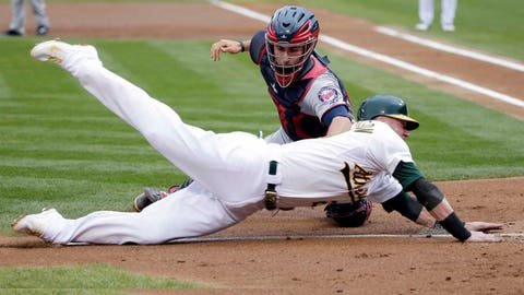 2. Eric Fryer has been a solid option as a backup catcher, especially defensively