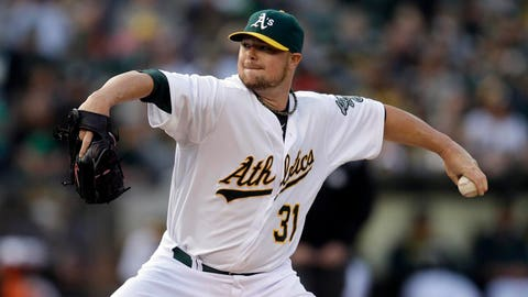 5. The Twins are getting a good look at the A's rotation, which rivals the Tigers for the best in the American League