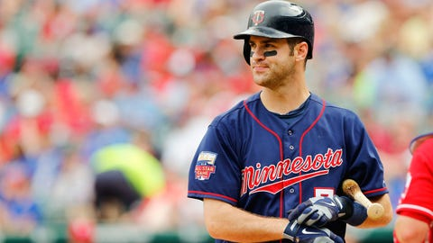 10. Joe Mauer, Minnesota Twins: $184 million over 8 years
