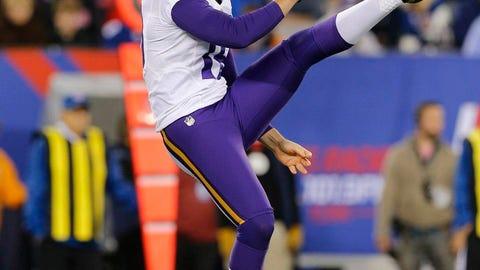 Jeff Locke, Vikings punter
