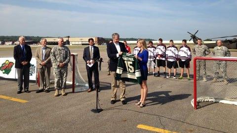 Hockey Day Minnesota 2015 announcement