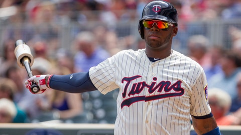 Kennys Vargas, Twins first baseman (↓ DOWN)
