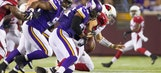 Vikings claw past Cardinals, 30-28