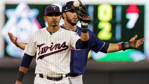 Indians at Twins: 8/19/14-8/21/14
