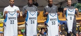 Fair-ly optimistic: Wiggins, Bennett and Young embraced by Wolves fans