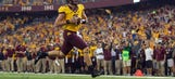 Notebook: Leidner overcomes nerves, shows off legs in Gophers win