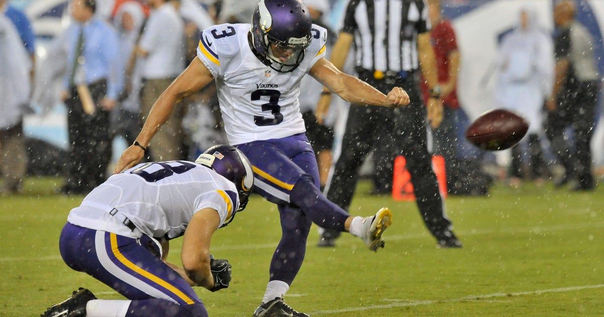 0e21e695c Kicker Blair Walsh opens up about future with Minnesota Vikings ...